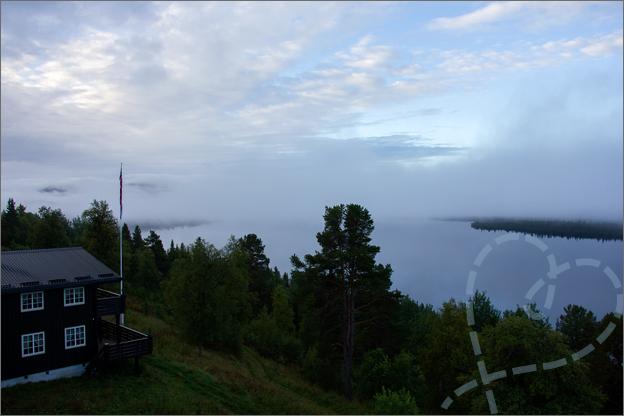 Reisverslag Noorwegen uitzicht hotelkamer
