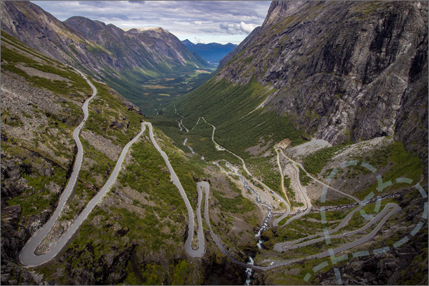 Trollstigen Reisverslag Noorwegen
