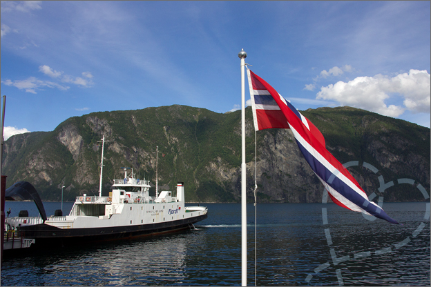 Reisverslag Noorwegen pont
