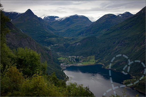Reisverslag Noorwegen uitzichtpunt geiranger