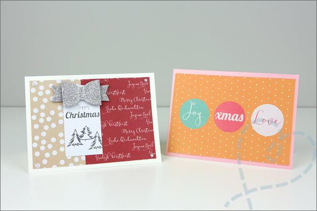 Zelf kaarten maken kerst knutselen trekpleister