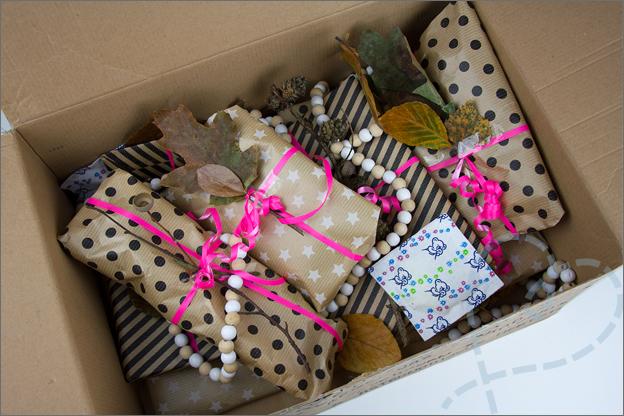 cadeautjes in doos