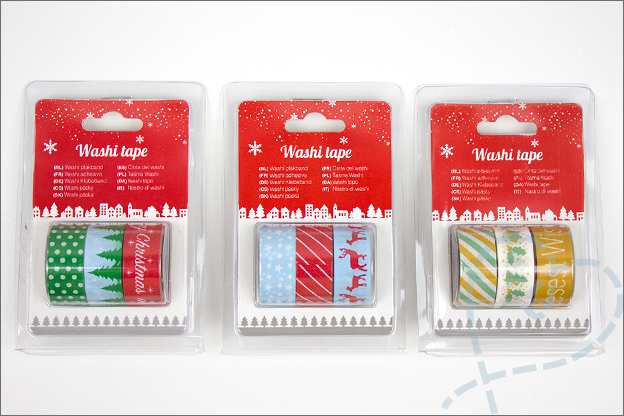 action kerst producten washi tape
