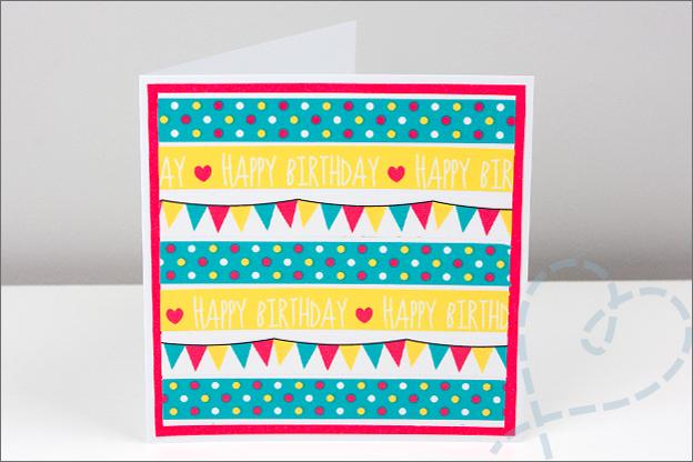 zelf gemaakt kaarten verjaardag