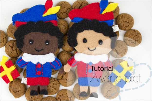 Tutorial 34 Zwarte Piet Van Vilt Nobody Else Nobody Else