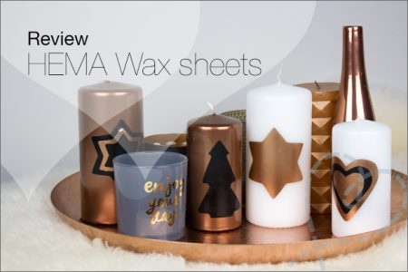 Review: HEMA Wax sheets voor kaarsen