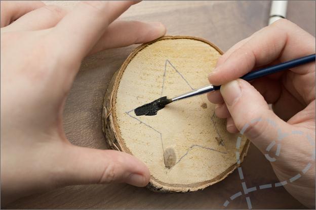 verven van het hout