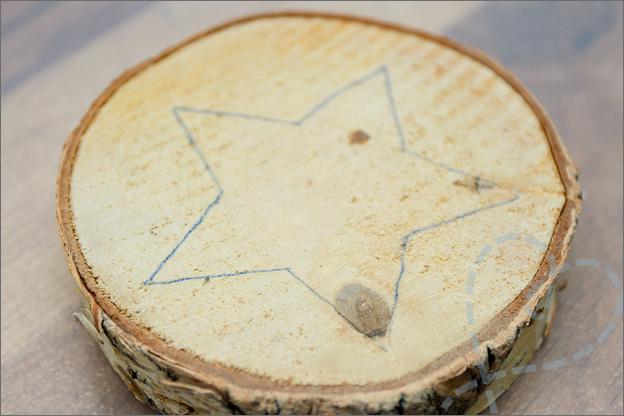 patroon op hout