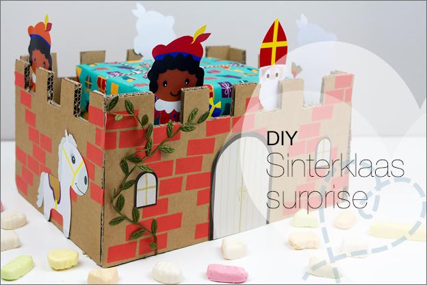 DIY sinterklaas surprise maken knutselen ideeen