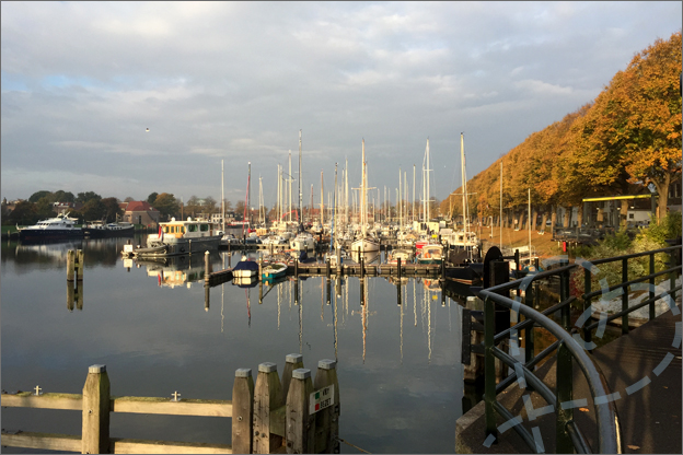 Haven medemblik herfst