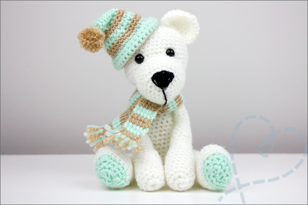 gehaakte ijsbeer boekenvoordeel patroon
