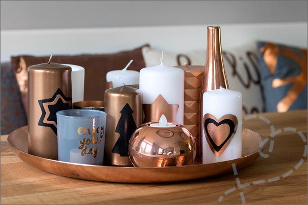 Je huis voor kerst versieren aftellen naar kerst for Versiering goud