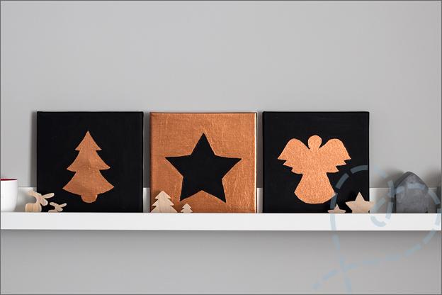 schilderijtjes voor kerst