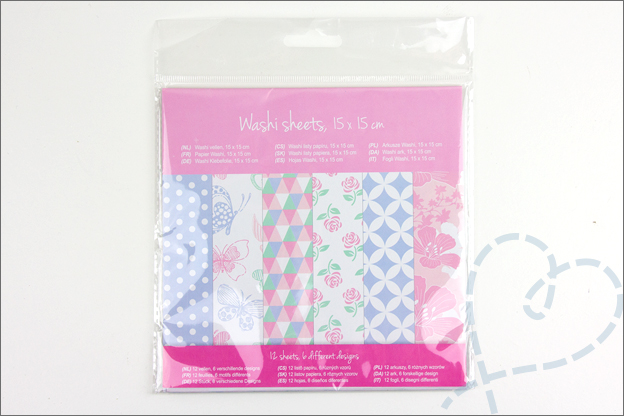 Action washi sheets shoplog