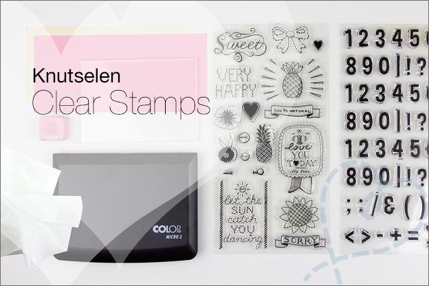 clear stamps hoe werken ze