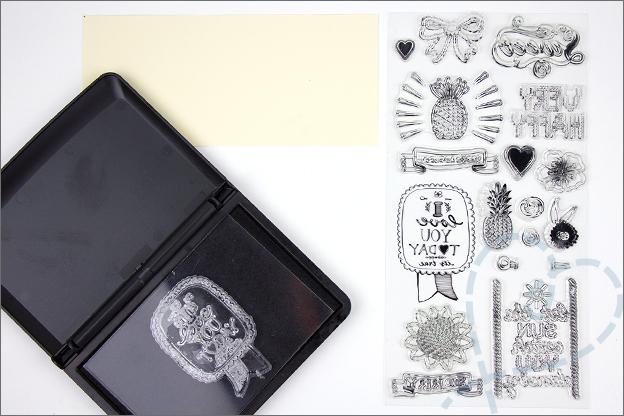 Clear stamp stempelkussen