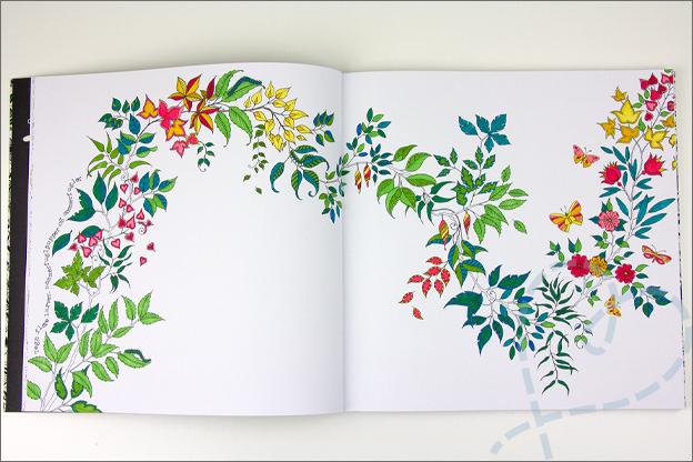 kleuren voor volwassen mijn geheime tuin