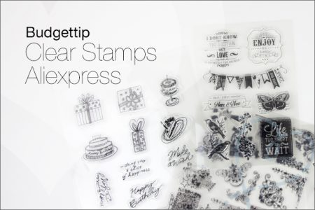 Budgettip: Clear Stamps AliExpress