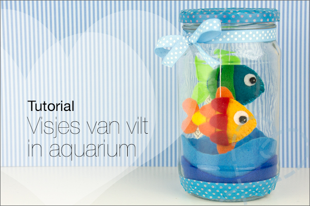 visjes van vilt aquarium tutorial