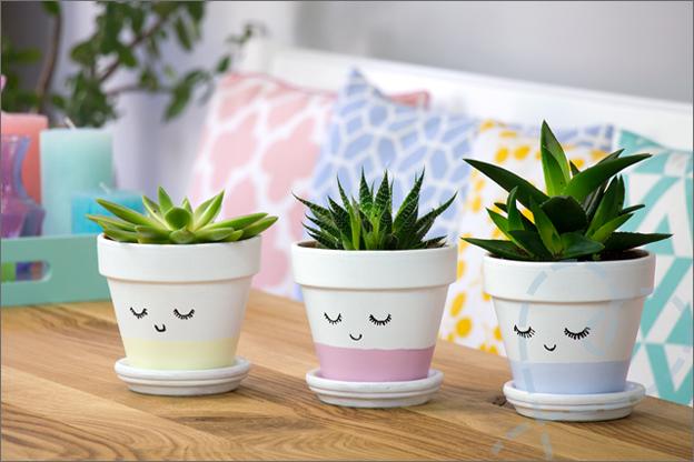zelf maken bloempotje voor je planten