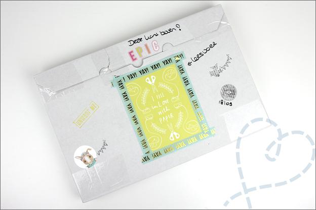 ontvangen pakketje