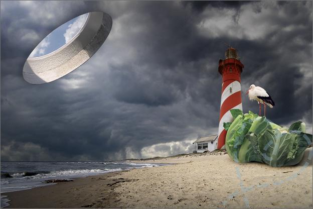 photoshop op het strand