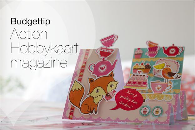 action budgettip hobbykaart magazine