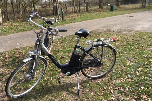 Centerparcs Port Zelande elektrische fiets huren