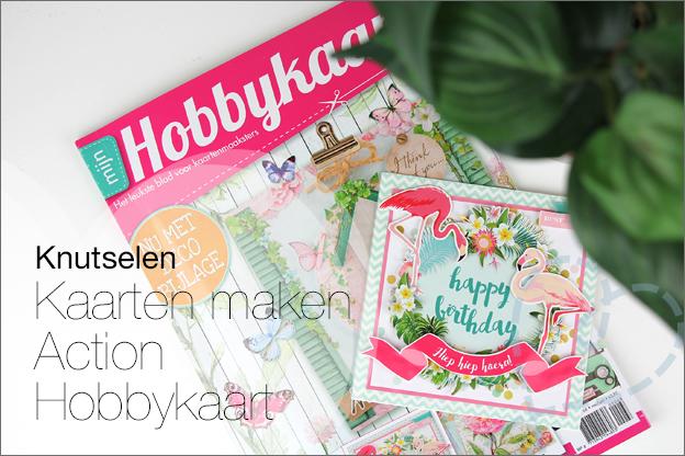 kaarten maken Action hobbykaart magazine