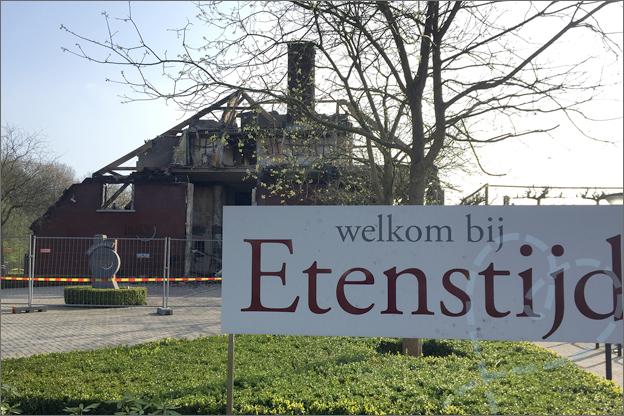 Brand etenstijd Tilburg