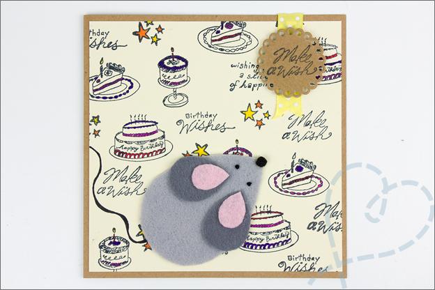 verjaardagskaart maken muis