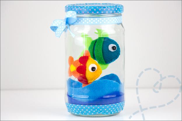 aquarium visjes van vilt maken
