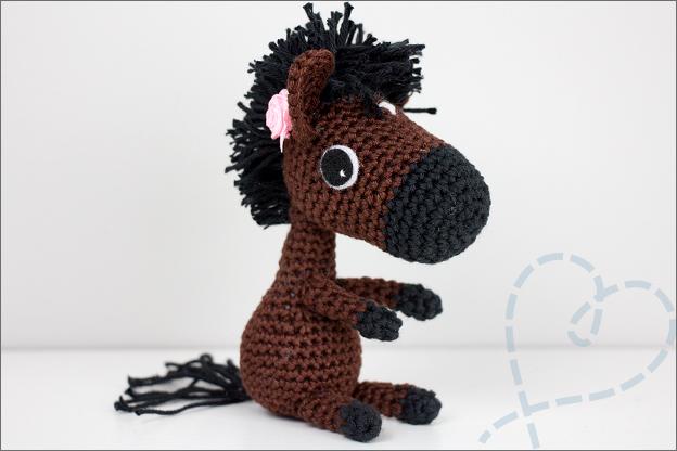 gehaakt paard patroon nederlands