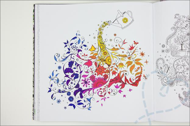 kleuren voor volwassen gieter kleuren regenboog