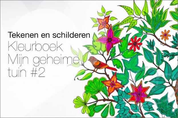 kleuren voor volwassen geheime tuin