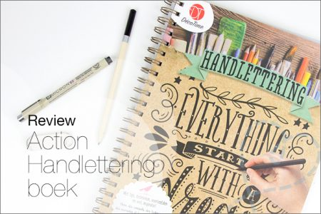 Review: Action boek Handlettering Decotime