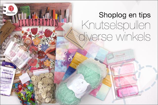 Shoplog action pipoos knutselspullen