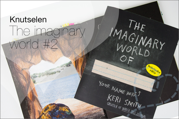 Boek Imaginary world keri smith