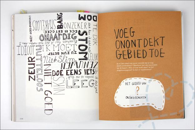 voorbeeld the Imaginary world boek