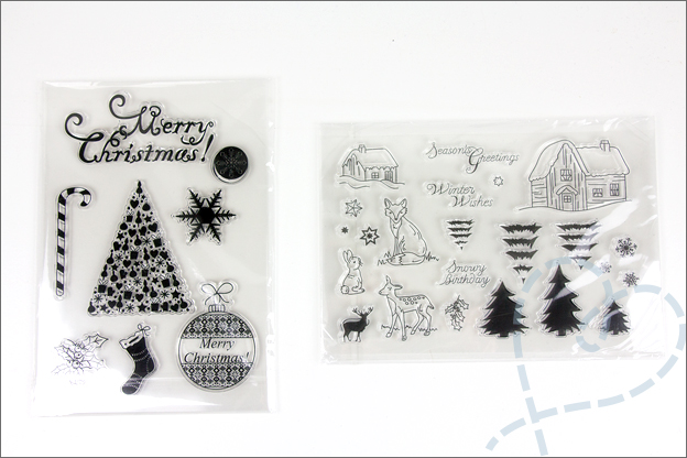 AliExpress clear stamps kerst