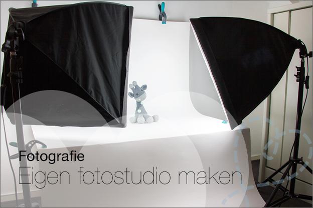 Fotografie eigen studio maken makkelijk budget