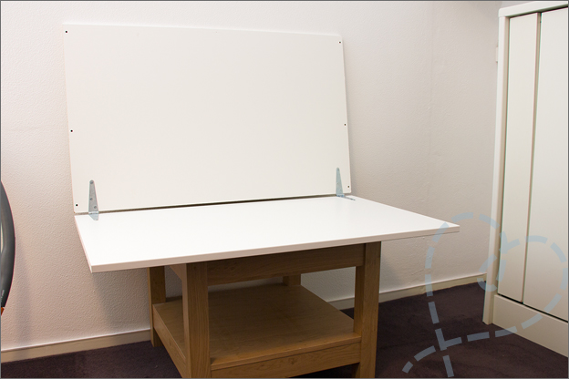 Fotostudio maken makkelijk fototafel