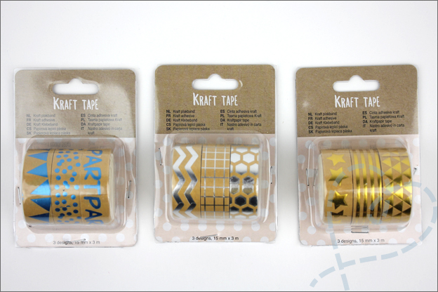 Kraft tape Action shoplog