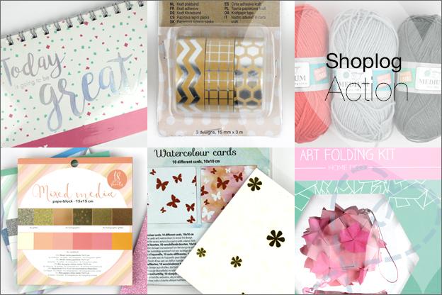 shoplog action knutselspullen