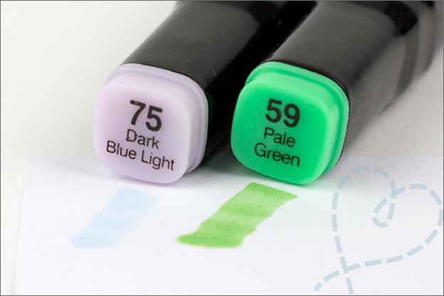 Action twinmarkers kleurverschil kleurafwijking