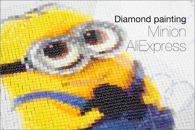 Diamond painting AliExpress minion