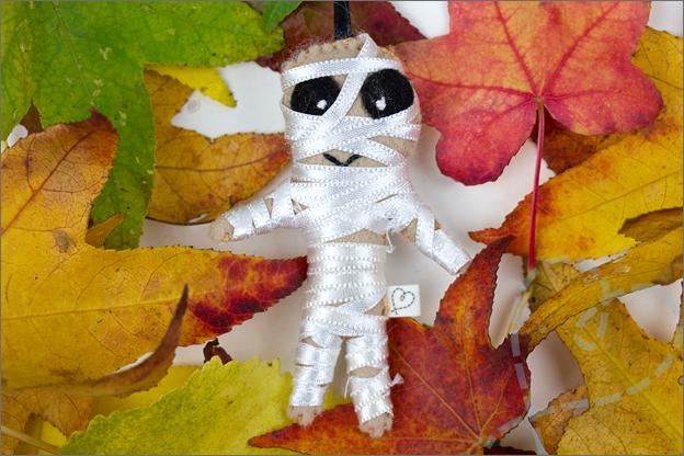 Halloween mummie vilt DIY tutorial