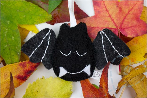 Halloween versiering vleermuis DIY