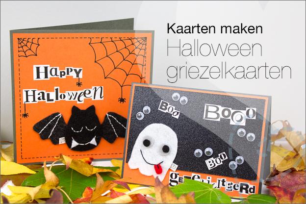kaarten maken halloween stoer jongen