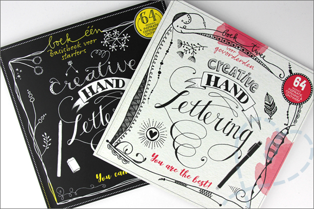 Action creative handlettering boeken dutchbook
